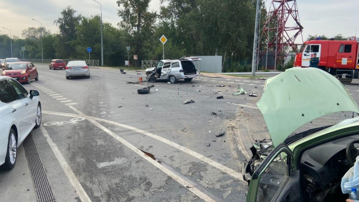 После ДТП на Восточном шоссе Ростова возникла 4-километровая пробка