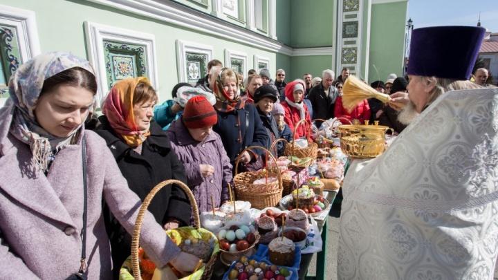 Где в Челябинске освятить куличи на Пасху. Публикуем расписание праздничных служб в храмах