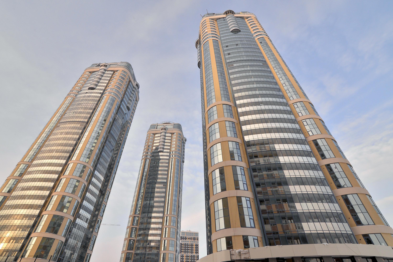 «Чемпион парк» — уникальные жилые небоскрёбы у ЦПКиО. Здесь тоже остались в продаже квартиры