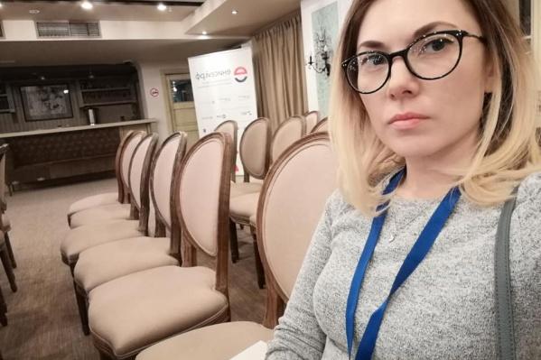Анастасия сообщила соратникам, что ее везут в отдел полиции