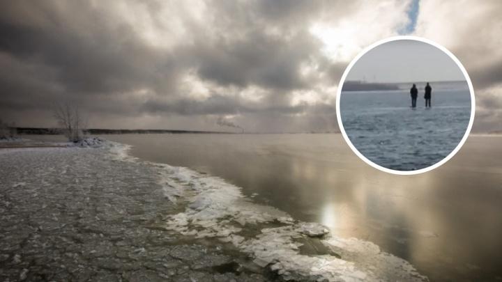 «Они не заметили, что их оторвало от берега»: двух подростков унесло по Оби на льдине