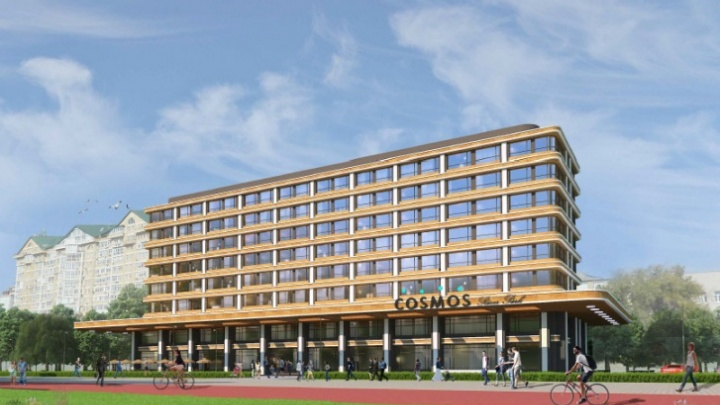 Завтра в Омске начнут возводить гостиницу Cosmos