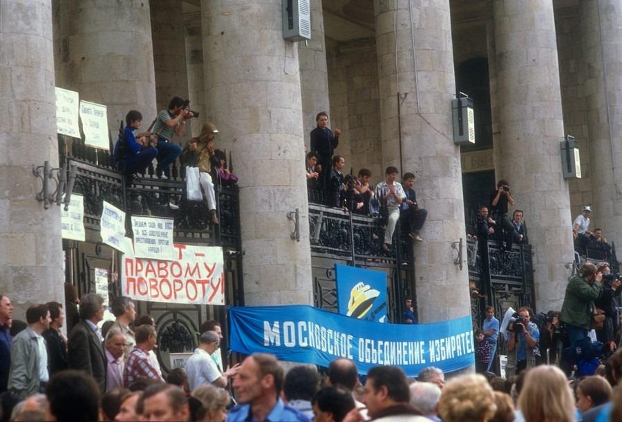 Протесты 80-х были разношерстны и во многом наивны: люди хотели перемен, но не знали, каких именно
