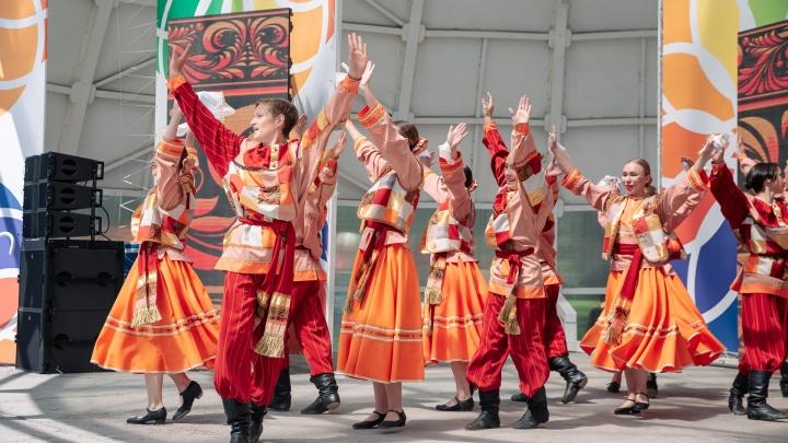 Как Кемерово отмечает 300-летие Кузбасса: фоторепортаж с улиц города