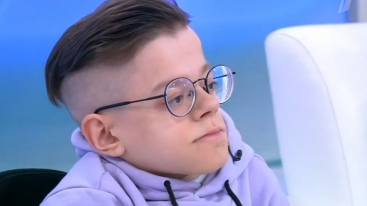 На Первом канале вышла программа Малышевой с «хрустальным» архангелогородцем. Ему пообещали помочь
