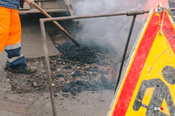 Автомобилисты просят провести хотя бы ямочный ремонт на Ракитовском шоссе