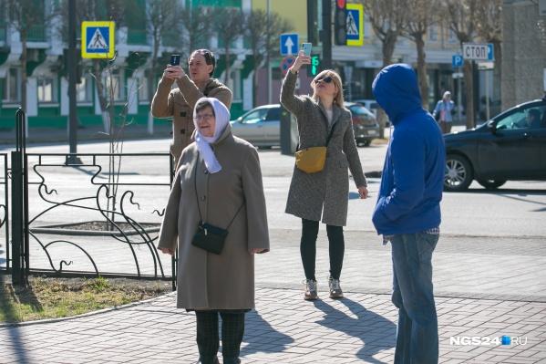 В историческом центре Красноярска много интересного