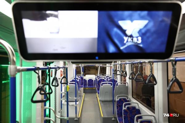В феврале для обкатки Челябинск уже получал новый трамвай из Усть-Катава
