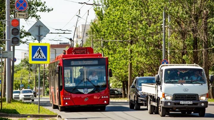 В Ярославле власти изменили расписание движения троллейбуса № 5