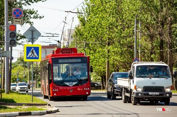 Как будет ходить троллейбус
