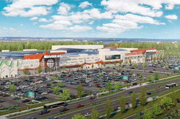 Так будет выглядеть новый торговый центр