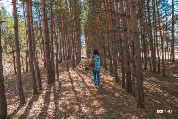 Посетители смогут насладиться природой и рыбалкой