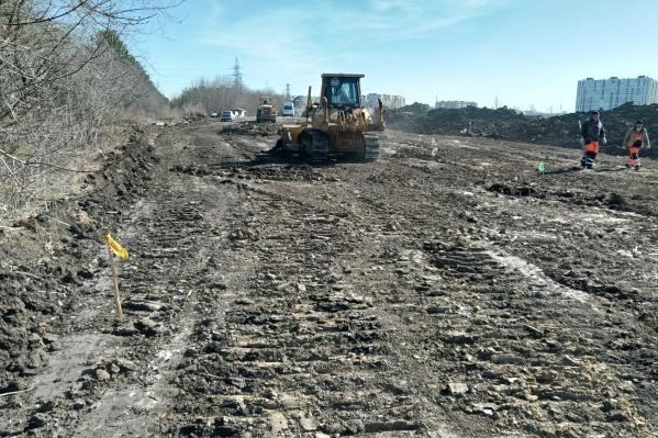 Тендер на строительство этого участка объявили еще в прошлом году
