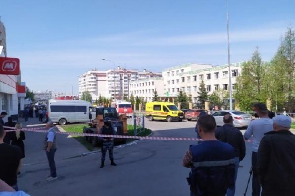 Стрельба в школе произошла 11 мая рано утром