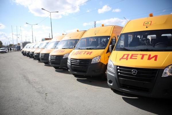 До конца года в регион привезут еще 35 автобусов и 4 машины скорой помощи