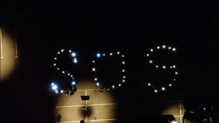«SOS»: из-за отсутствия освещения у дома тюменцы выложили сообщение властям