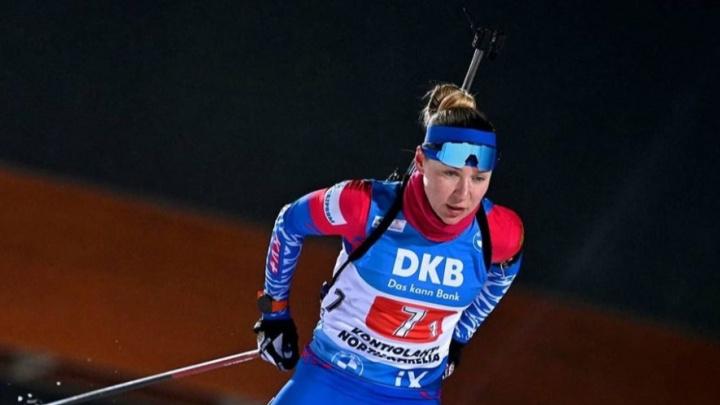 Новосибирская биатлонистка стала шестой на этапе Кубка мира
