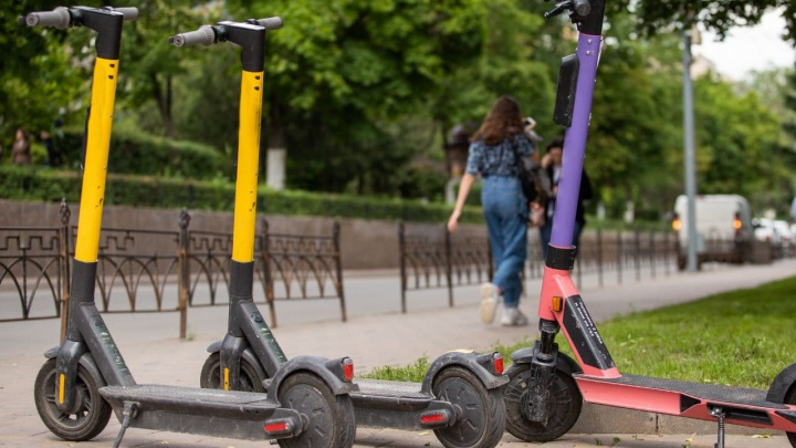 В ГИБДД предложили разрешить электросамокатам ездить только в парках Ростова