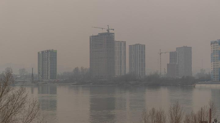 Новосибирск утонул в плотной дымке— 12мрачных кадров из города, в котором можно потеряться