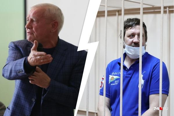 Иван Окольников (справа) возглавляет ООО «Заповедник», учредителем которого является Виталий Рыльских
