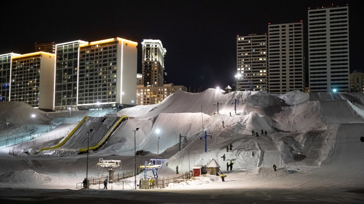 Вместо фитнеса: три горнолыжных трассы в черте города, где можно кататься после работы