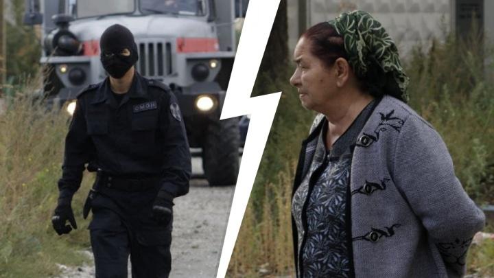 Цыганский поселок накрыл ОМОН и полиция. Публикуем 13 фото изнутри оцепления