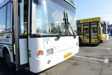 Городские автобусы в Ханты-Мансийске будут ходить с меньшим интервалом