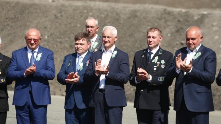 Первый зампред правительства России посетил Кузбасс на День шахтера. Рассказываем, что он тут делал