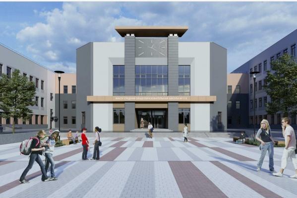 Будущая школа может выглядеть так