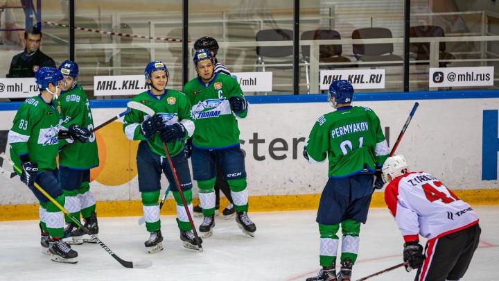 Будущие звезды хоккея: смотрим на восходящие таланты в «молодежке» «Салавата Юлаева»