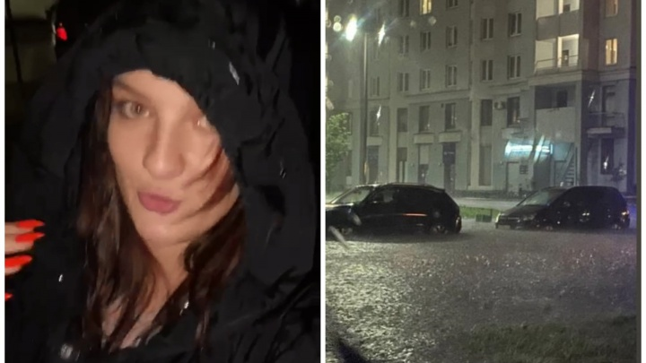 «Надеюсь, меня не убьет молнией»: видео с потопом в Екатеринбурге набрало миллионы просмотров в TikTok