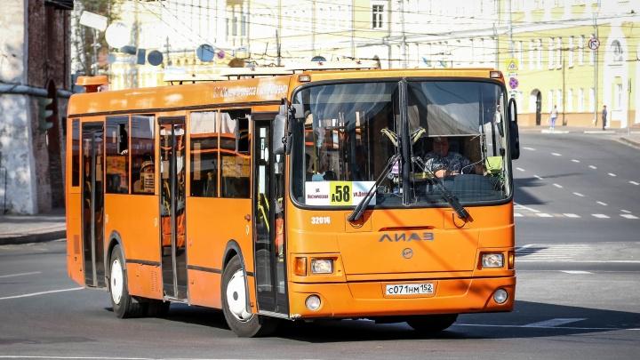 Семнадцать автобусных маршрутов меняют схему движения из-за ремонта на улице Минина