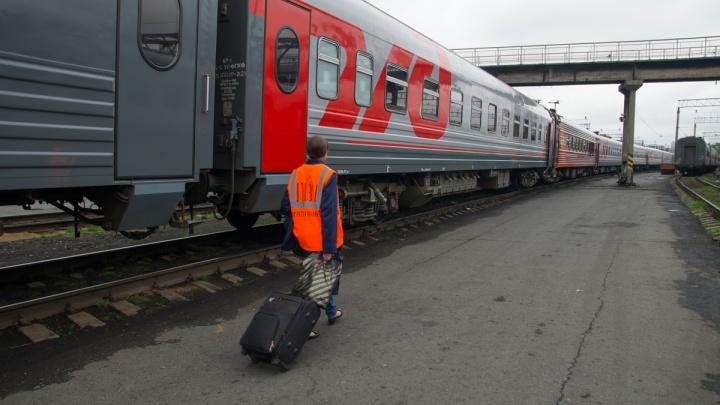 В Екатеринбурге к поезду прицепили персональный вагон для проводницы, заболевшей COVID-19