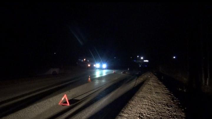 В Свердловской области ищут водителя, который насмерть задавил пешехода и уехал