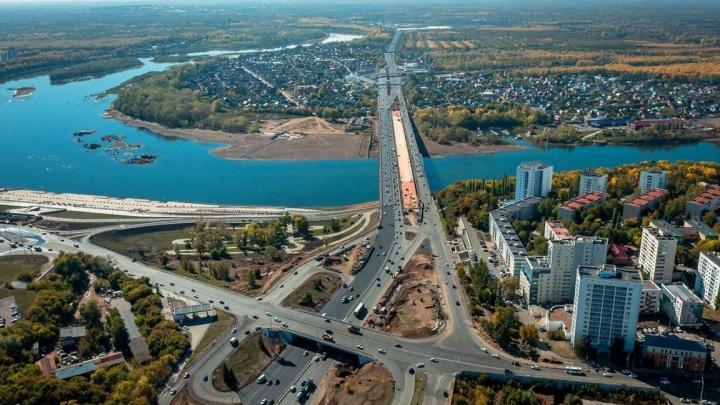 В Уфе назвали дату открытия нового моста через реку Белую