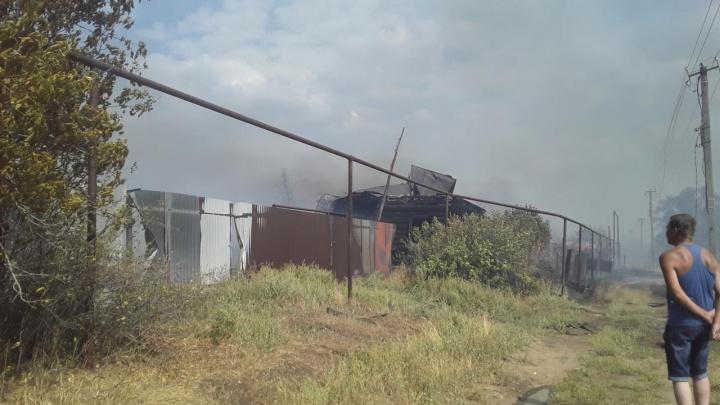 «Не знаем, куда деваться»: жительница села Гвардейцы рассказала, как сгорел ее дом