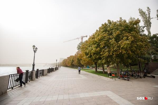 В октябре в Ростове пойдут дожди