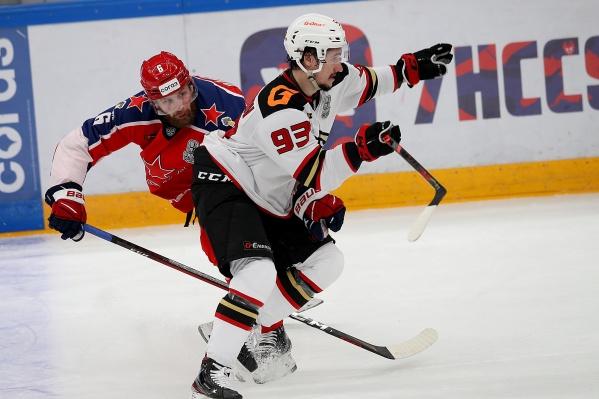 Александр Хохлачёв провел всего один сезон в «Авангарде»