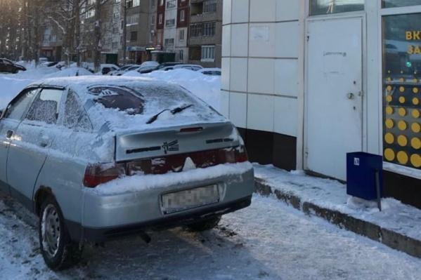 Предполагаемый виновник ДТП был на этой машине