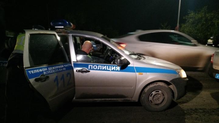В Курганской области участились нападения на сотрудников ГИБДД