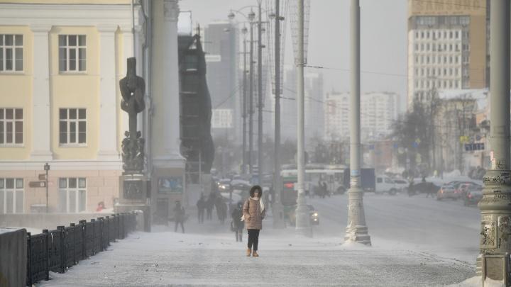 Мороз по городу: фоторепортаж, от которого вы передумаете выходить из дома