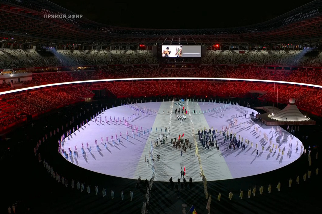 """Сборная России выйдет на арену <nobr class=""""_"""">77-й</nobr>"""