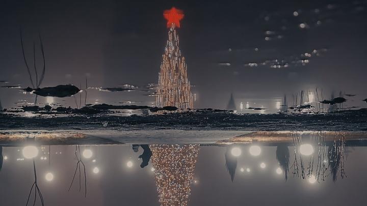 Это возможность заглянуть в неизведанное: фотограф снял затянутый туманом ночной Волгоград