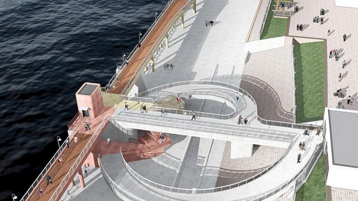 «Соединить причалы мостом»: озвучен новый вариант преображения речного вокзала