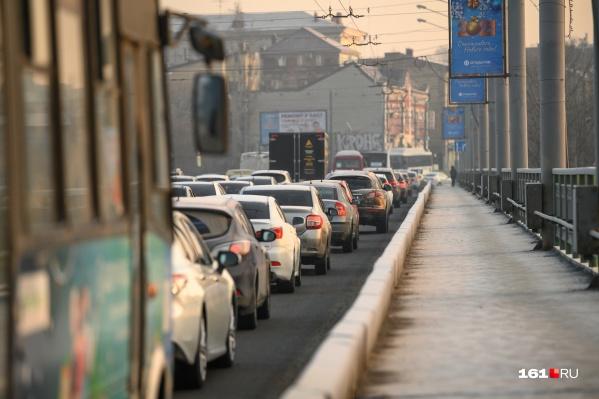 Некоторые сегодня потратили на дорогу на работу более трех часов