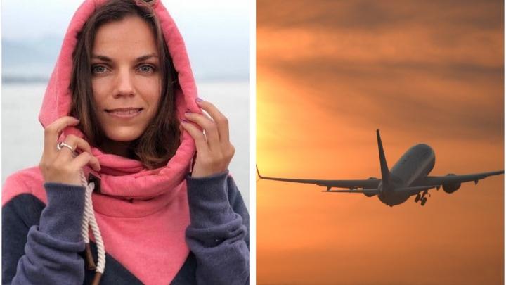 «Как в фильме ужасов»: екатеринбурженка, прилетевшая домой одна в огромном самолете, поделилась видео