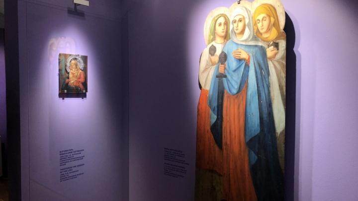Кисть зажимал в зубах: иконы самарского живописца выставили в Москве