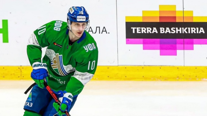 Нападающий «Салавата Юлаева» Илья Баранов перешел в «Спартак»