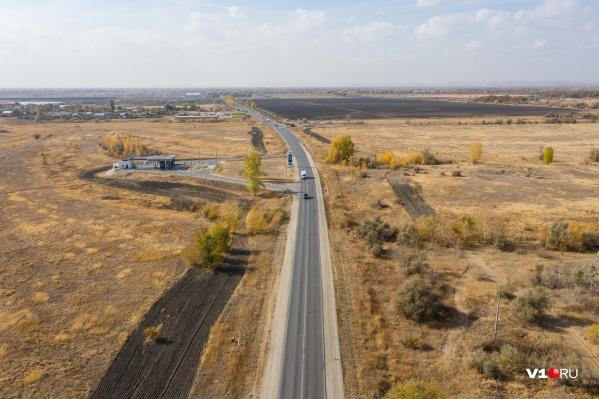 Старая дорога уже не справляется с возросшим потоком транспорта