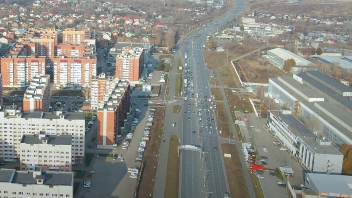 Названы сроки строительства надземного пешеходного перехода на въезде в Самару